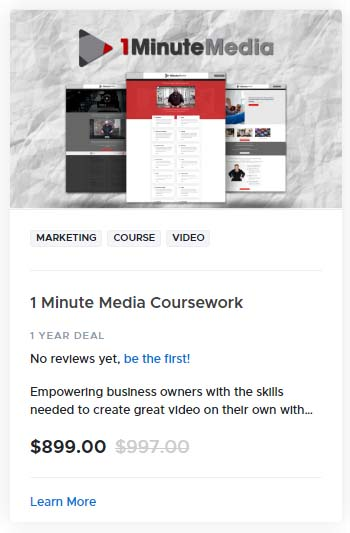 1 Minute Media Coursework