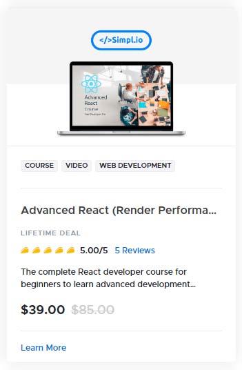 Advanced React