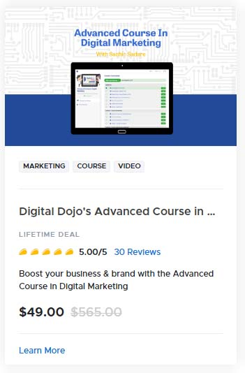 Digital Dojos Advanced Course