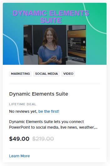 Dynamic Elements Suite