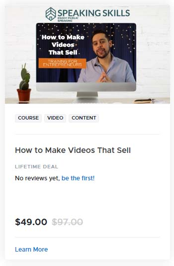 How to Make Videos That Sell