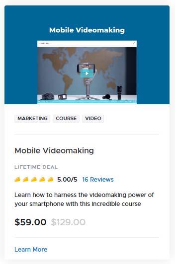 Mobile Videomaking