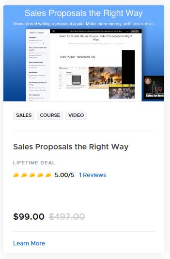 Sales Proposals the Right Way