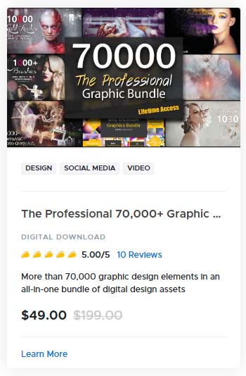 The Professional 70000 Graphic