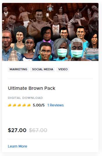 Ultimate Brown Pack